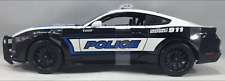 Maisto   2015 Ford Mustang GT Police Scale 1:18- Black/White (FREE SHIPPING)