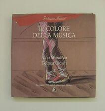 Aldo Mondino Delmar Brown, Il colore della musica, café l'Atlantique Maimeri