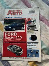 Manual  De TALLER  De Electricidad Y Electrónica FORD MONDEO 2.0 DI