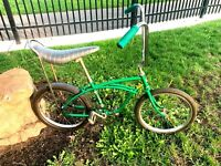 "Vintage 1960's HUFFY CHEATER SLICK Muscle Bike 20"" NICE"