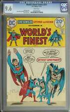WORLD'S FINEST COMICS #221 CGC 9.6 WHITE PAGES