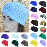 NEW TURBAN STYLE Head Wrap Head cover Hat Bandana Scarf Hair Loss Cap-Chemo