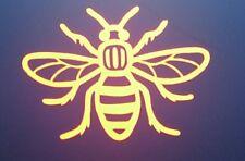 Manchester Bee-Reflective,Decal, Sticker. Car, Van, Bike, Window,Toolbox,Laptop