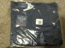 Men's Croft & Barrow Easy-Care Stretch Classic-Fit Flat-Front Pants 32 x 34 new
