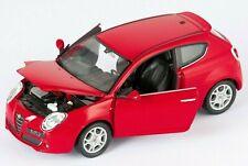 BLITZ VERSAND Alfa Romeo Mito rot / red Welly Modell Auto 1:24 NEU & OVP