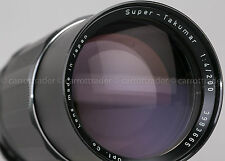 Pentax Asahi Super Takumar 200mm f4 Telephoto Prime Lens