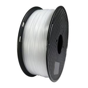 3D Printer Filament ABS Filament 1.75mm 1KG 2.2LBS Transparent Plastic Material