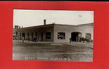 RPPC Clinton,Rock County,Wisconsin WI Drake Garage used 1919 Motor Cars, Tires