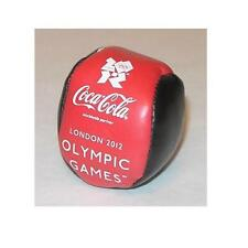 London 2012 Olympic Games souvenir Coca-Cola logo hacky sack-style footbag—great