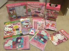 Hugh lot of Hello Kitty Bracelet Kits Games and Activities