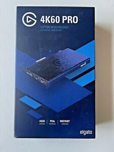Elgato Game Capture 4K60 Pro - 4K 60fps Capture Card - 10GAG9901 - PCIe- NEW