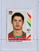 "RARE !! CRISTIANO RONALDO Sticker ""WORLD CUP GERMANY 2006"" Panini ROOKIE"