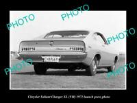 OLD 8x6 HISTORIC PHOTO OF 1971 VH XL CHRYSLER VALIANT CHARGER PRESS PHOTO 2