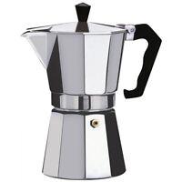 Espresso Stove Top Coffee Maker Continental Moka Percolator Pot 1,3,6,9,12 cup