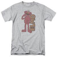 SESAME STREET VINTAGE ELMO Licensed Men's Graphic Tee Shirt SM-5XL