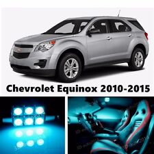 14pcs LED ICE Blue Light Interior Package Kit for Chevrolet Equinox 2010-2015
