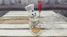Danbury mint figurine Pillsbury doughboy boy clean sweep broom collector