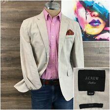 J Crew Mens Ludlow Slim Unstructured Linen Cotton Blazer Sport Coat Size 40S New