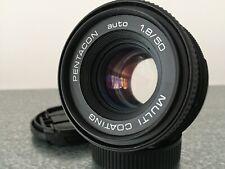 Beautiful bokeh Pentacon 50mm f1.8 M42 lens for Sony Fuji Samsung Canon Nikon