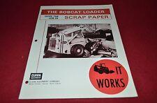 Bobcat M-970 Skid Steer Does The Job in Scrap Paper Dealers Brochure DCPA2