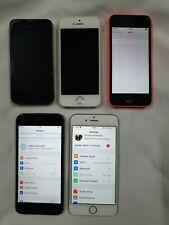 7 x Apple iPhone 6, 6 5s 5C iPhone 4 JOB LOTTO ** DIFETTOSO **