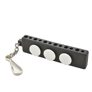 Enduring Golf Tee Holder Carrier Tees Regal mit 3 Ball Markern mit SchlüsselbBOD