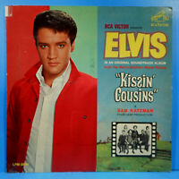 ELVIS PRESLEY KISSIN' COUSINS LP 1964 MONO ORIGINAL GREAT CONDITION! VG+/VG!!