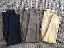 Mens Topman Stretch Skinny Chinos X3 W30L30 | Blue/Grey/Beige