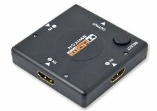 Technotech 3 Port HDMI Switch Switcher Splitter Changer for HDTV 1080P Manual