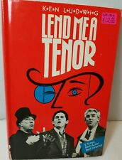 LEND ME A TENOR by Ken Ludwig NEW w DUST COVER 1988 FIRESIDE THEATRE Hardcover