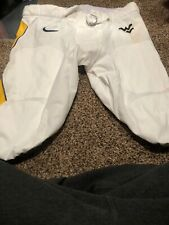Authentic Game Worn Wvu Jersey Pants