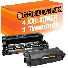 1 Trommel & 4 Toner für Brother DR-3400 TN-3480 HL-L 5100DN 5200DW 6250DN 6300DW
