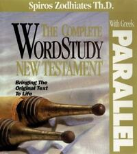 COMPLETE WORD STUDY NEW TESTAMENT W/ PARALLEL GREEK: KJV EDITION By Spiros NEW