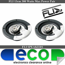 Renault Modus 04-14 FLI 13cm 5.25Inch 360 Watts 3 Way Front Door Car Speakers