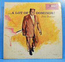 FATS DOMINO A LOT OF DOMINOS LP 1960 MONO ORIGINAL PRESS NICE CONDITION! VG/VG!!