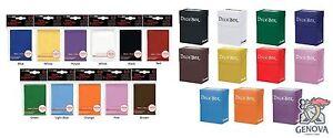 60 Ultra Pro Deck protector card sleeves + Ultra Pro Deck Box Yugioh, Vanguard