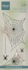 "Clear Stamp ""Tiny's border - Spider web / Spinnennetz"" Stempel transp. Halloween"