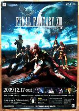 FINAL FANTASY XIII RARO PS3 0,5 cm x 73 cm giapponese PROMO poster # 2