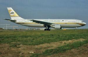 Original aircraft slide Libyan Arab A300 TS-IAZ