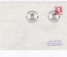 Denmark 1983 Queen Margrete 2.50 ore FDC Kobenhavn CDS VGC