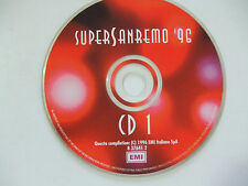 """Super Sanremo '96 """"CD 1"""" - CD Compilation Stampa ITALIA 1996 No Cover"""