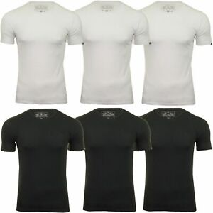 Mens Tokyo Laundry Crew Neck Short Sleeve Cotton Stretch Plain Summer T-Shirt