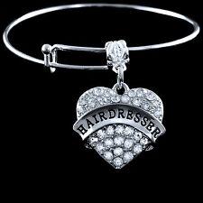 Hairdresser bracelet huge sale Lowest price Hairstylist gift  Austrian Crystals