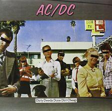 ACDC DIRTY DEEDS DONE DIRT CHEAP LP VINYL 33RPM NEW