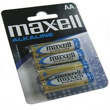 Maxell pila alcalina 1.5v tipo AA Pack4 (Cod. Inf-aispil0020)