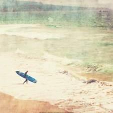 Margin Walker Myan Soffia Surfing Art Print Poster 27x27