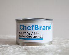 PLATO Desechable ROZADURAS combustible Gel puede grabar 3H para sartenes Catering partes de alimentos