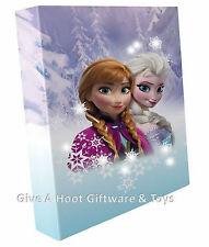 Disney Frozen Anna Elsa Girls Bedroom LED Light Up Night Light Wall Canvas