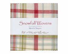 Snowfall Wovens by Minick & Simpson Charm Pack for Moda Fabrics