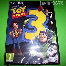TOY STORY 3 DISNEY PIXAR NUEVO Y PRECINTADO PAL ESPAÑA VIDEOJUEGO PC